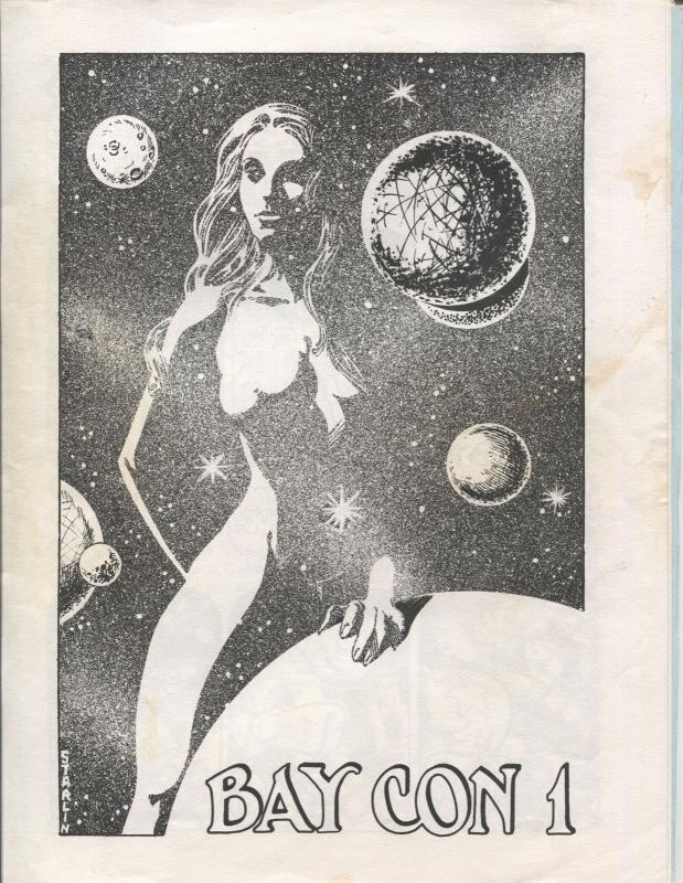 Bay Con 1975-1st edition-Joe kubert autograph-historic-San Francisci[-FN