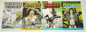 Pentacle: the Sign of the Five #1-4 FN/VF complete series epic struggle of magic