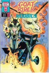 Goat Rider vs. Moobius