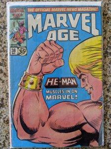 Marvel Age #38 (1986) VG/V
