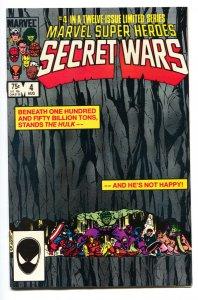 MARVEL SUPER HEROES SECRET WARS #4 Copper age comic book NM-