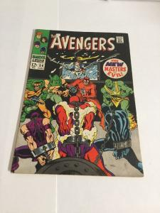Avengers 54 Vg+ Very Good+ 4.5 Marvel Comics Cameo First App Ultron Silver Age