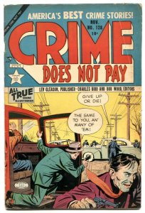 Crime Does Not Pay #128 1953- Golden Age comic VG+