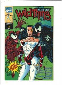 Wild Thing #1 VF/NM 9.0 Marvel UK Comics Carnage & Venom app.