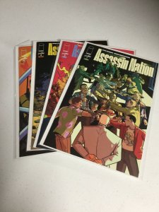 Assassin Nation 1 2 3 4 Nm Near Mint Image Comics
