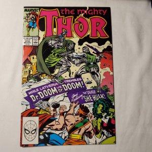 Thor 410 Near Mint Script by Tom DeFalco