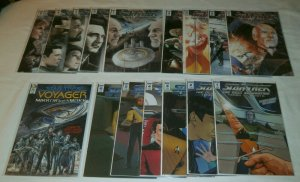 Star Trek TNG Mirror Broken #1-4, Through the Mirror 1-5, Terror Incognita 1-6
