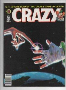 CRAZY #93 Magazine, FN/VF, E T alien, Dr Doom, Hulk 1973 1983, more in store