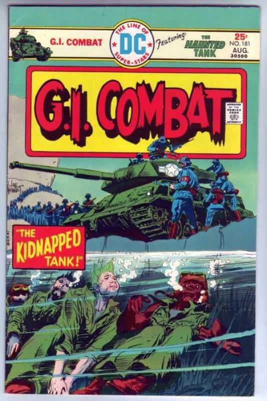 G.I. Combat #181 (Aug-75) VF High-Grade The Haunted Tank