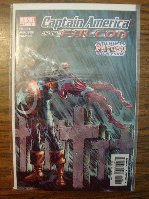 Marvel Comics Captain America & the Falcon #14 (Last Issue) NM