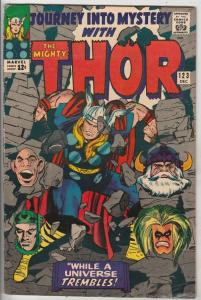 Journey into Mystery #123 (Dec-65) FN+ Mid-High-Grade Thor