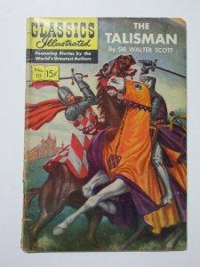 Classics Illustrated #111 HRN 112 The Talisman by Sir Walter Scott G