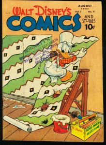WALT DISNEY COMICS AND STORIES #83-1947-CARL BARKS FN