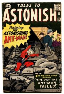 TALES TO ASTONISH #40 comic book 1963-JACK KIRBY-MARVEL