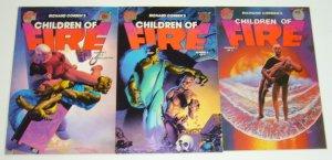 Richard Corben's Children of Fire #1-3 VF/NM complete series - fantagor press 2