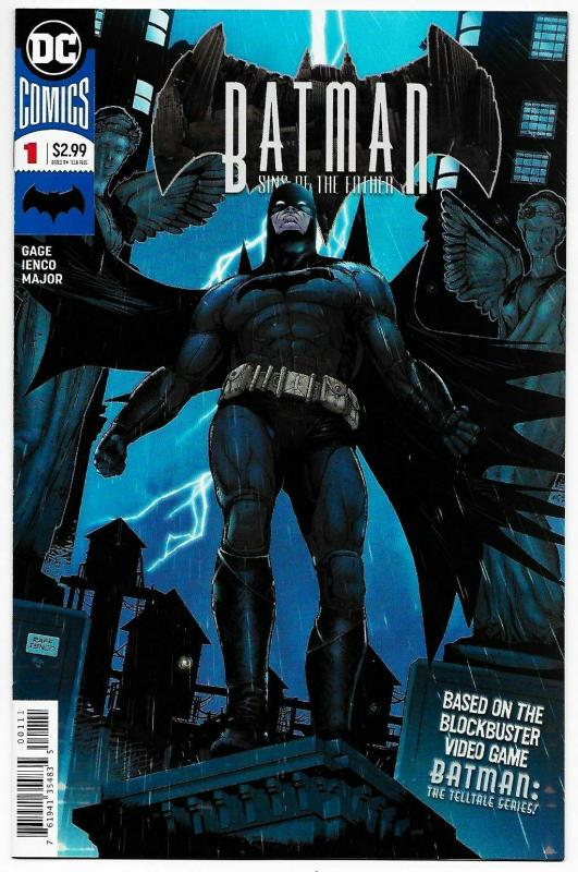 Batman Sins of The Father #1 (DC, 2018) NM