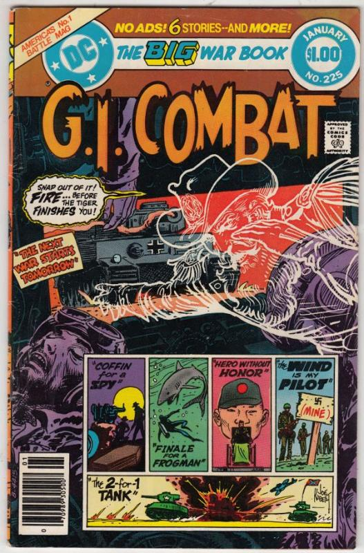 G.I. Combat #225 (Jan-81) VF/NM High-Grade The Haunted Tank