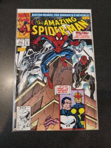 Amazing Spider-Man #356 Moon Knight and Punisher Appearance