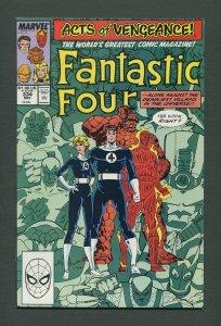 Fantastic Four #334  / 9.2 - 9.4 NM  /  December 1989