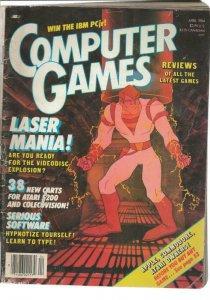 ORIGINAL Vintage Computer Games Magazine April 1984 Dragon's Lair