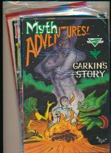 Warp Graphics LOT OF 6- MYTH ADVENTURS #7-12 F/VF(PF852)
