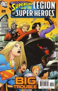 Supergirl and the Legion of Super-Heroes #20, NM + (Stock photo)