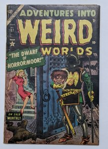 Adventures Into Weird Worlds #27 (Mar 1954, Atlas) VG 4.0 Joe Maneely cvr
