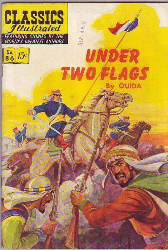 Classics Illustrated #86 (Aug-51) FN Mid-Grade
