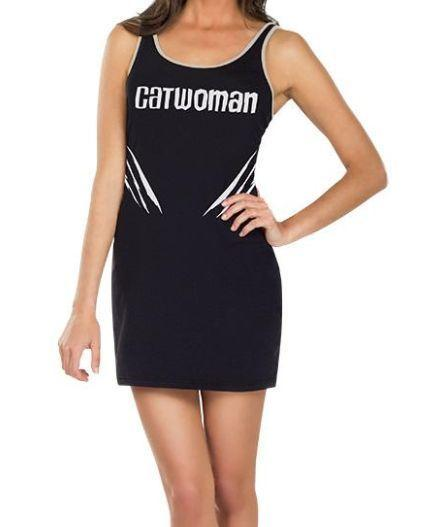 DC Catwoman Tank Dress Size SM (Rubies Costumes Co)