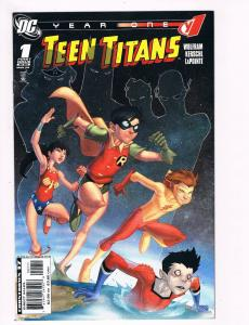 Teen Titans Year One # 1 DC Comic Books Hi-Res Scans Great Issue Modern Age! S17