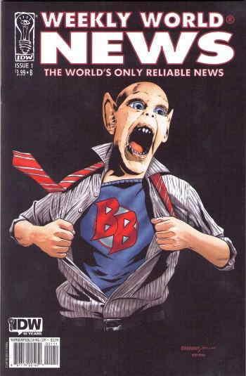 Weekly World News #1B VF/NM; IDW | save on shipping - details inside