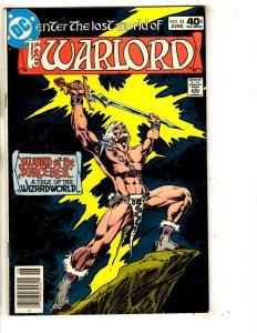 9 Warlord DC Comic Books # 34 35 37 50 68 69 70 71 72 Mike Grell JG6