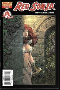 Red Sonja #28 (Dynamite Entertainment)- Liam Sharpe Cover