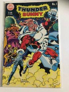 THUNDER BUNNY #1 1984 / RED CIRCLE / VF+/-