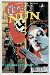 CRIMSON NUN #3, NM+, Antarctic, Ben Dunn, 1997, WWII, War, more in store