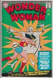 Wonder Woman #165 (Oct-66) VF/NM High-Grade Wonder Woman