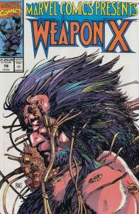 Marvel Comics Presents #78 VF/NM; Marvel | save on shipping - details inside