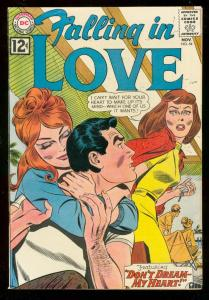 FALLING IN LOVE #54 1962-DC ROMANCE COMICS-GLOSSY COVER FN