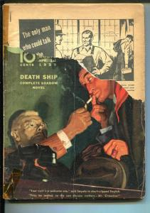 Shadow #3 4/1939-Street & Smith-hard boiled hero-crime pulp-Maxwell Grant-G-