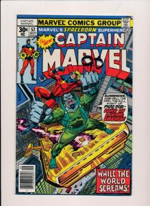 The New Captain Marvel #52, Marvel Comics ~ FINE/VF (HX328)