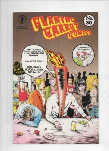 FLAMING CARROT #30 B, NM, Signed by Bob Burden, Dark Horse 1992 more FC in store