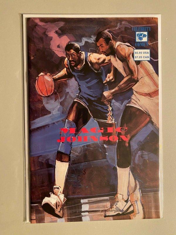 Magic Johnson #1 8.0 VF (1992)