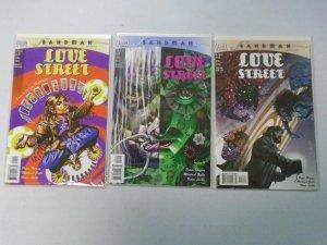 Sandman Presents Love Street set #1-3 8.0 VF (1999)