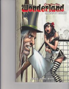 Wonderland House of Liddle Trade Paperback TPB Grimm Fairy Tales GFT Zenescope