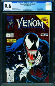 Venom: Lethal Protector #1 CGC 9.6 1st issue 1993 1991639017