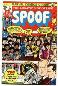 SPOOF #3 1973 MARVEL-MAD COMICS IMITATOR-RICHARD NIXON-SPIRO T AGNEW