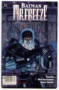 Batman: Mr Freeze 1997-Only issue-Origin-Comic Book DC
