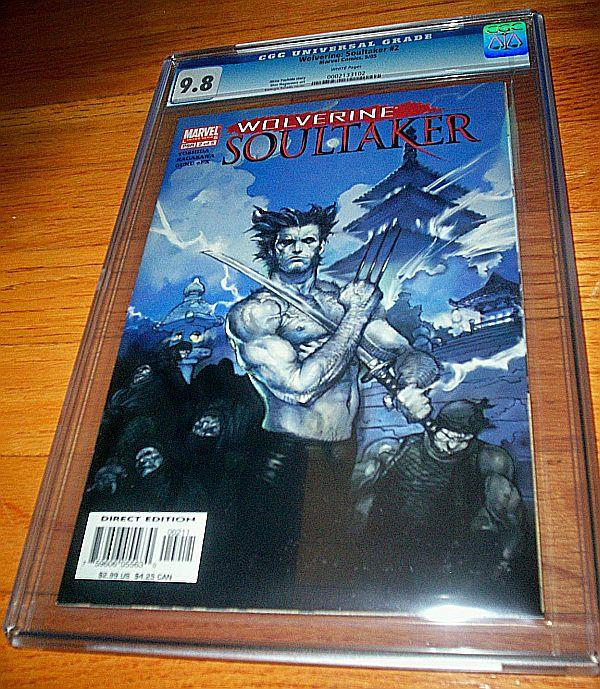 Wolverine Soultaker CGC #2 (May-05) NM/MT Super-High-Grade Wolverine