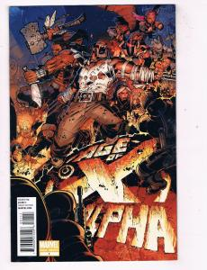 Age Of X Alpha #1 VF Marvel Comics Modern Age Comic Book Loeb 2011 DE48