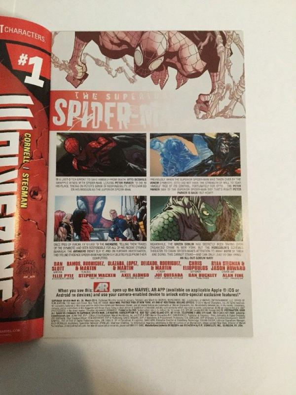 Superior Spider-Man 026 NM Near Mint